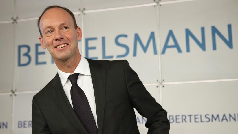"Bertelsmann-Chef Thomas Rabe: ""Bertelsmann soll digitaler werden"""