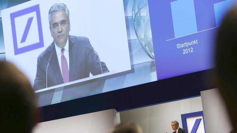 Der Chef der Deutschen Bank, Anshu Jain