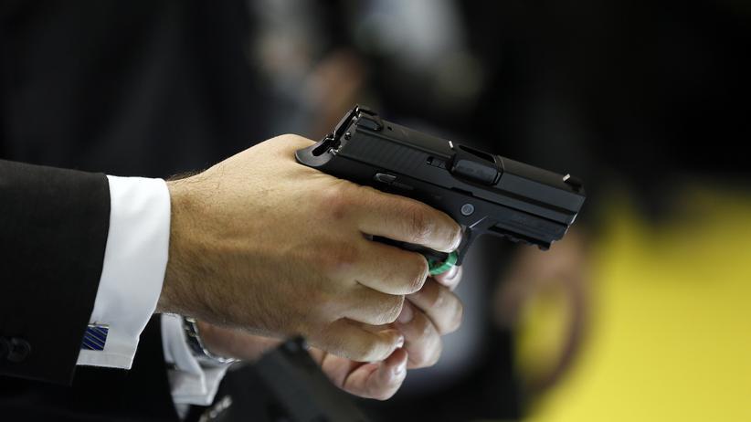 Waffenexport: Pistole des deutschen Herstellers Sig Sauer