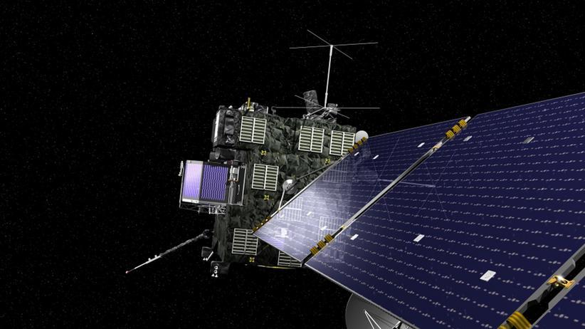 Raumsonde Rosetta: Mit viel Krawall ins All