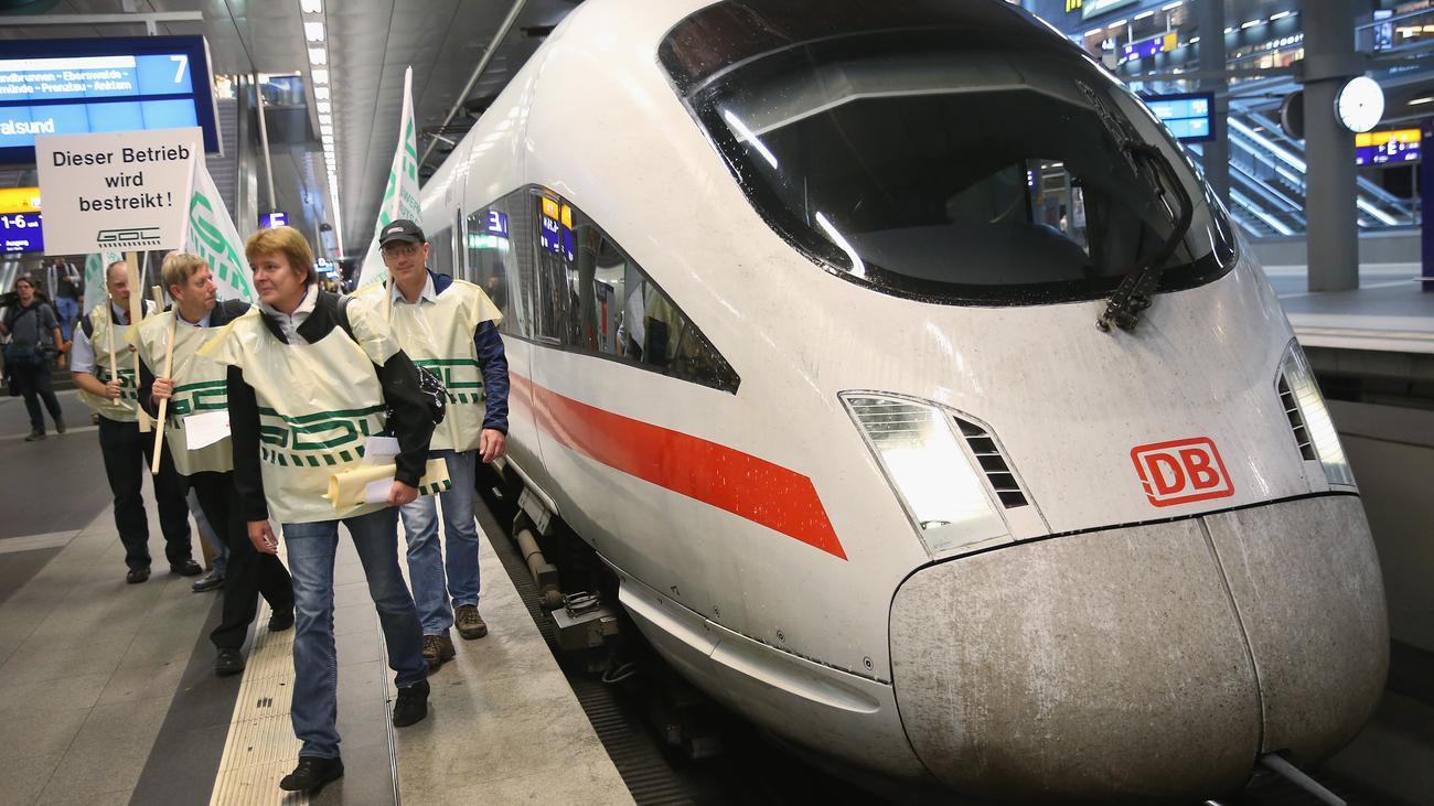 Deutsche Bahn Streik Info