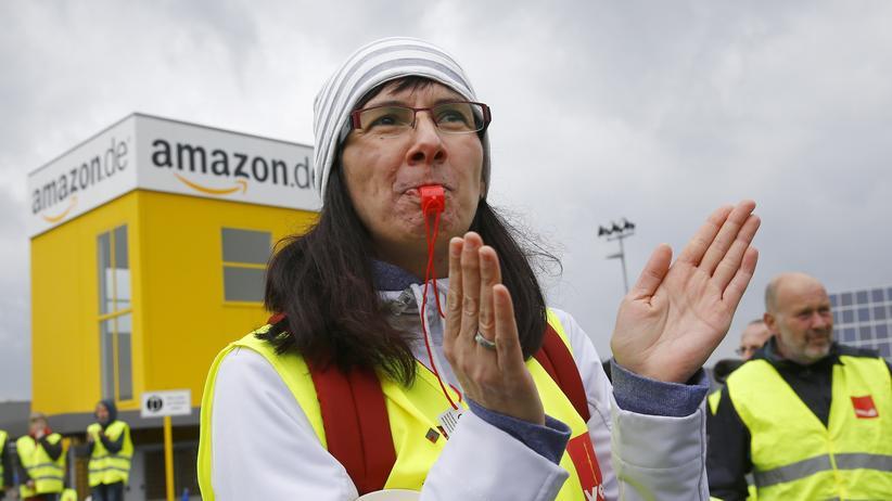 Amazon-Mitarbeiter streiken an fünf Standorten