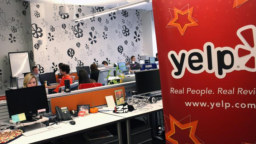 Die Yelp-Zentrale in New York