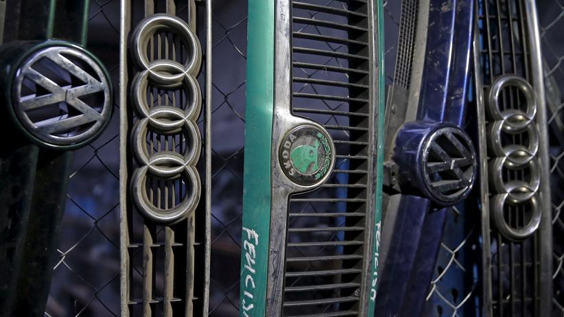 Abgas-Manipulation: Kühlergrille verschiedener Modelle der Volkswagen-Gruppe