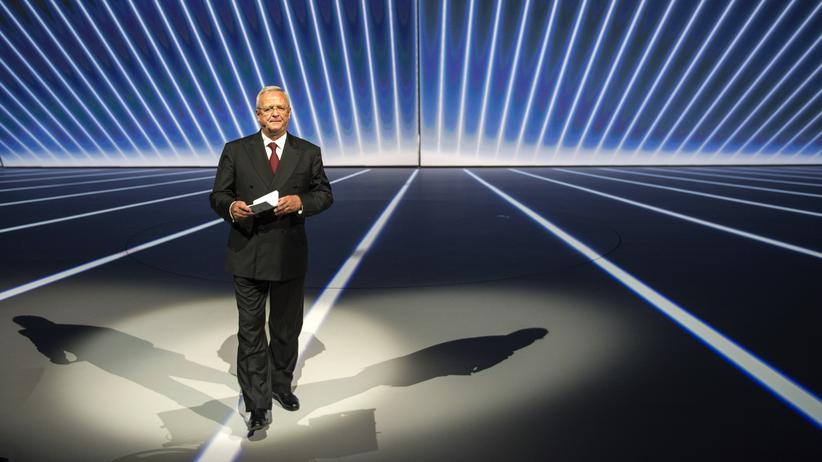 Abgasmanipulation: Martin Winterkorn auf der diesjährigen Internationalen Automobilausstellung (IAA)