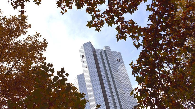 Sanktionen: Der Hauptsitz der Deutschen Bank in Frankfurt am Main