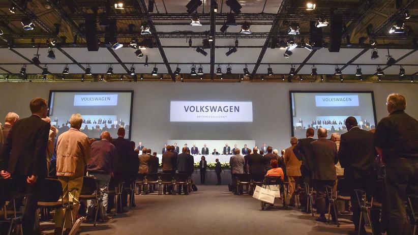 Volkswagen-Hauptversammlung: Große Show ohne Aufklärung