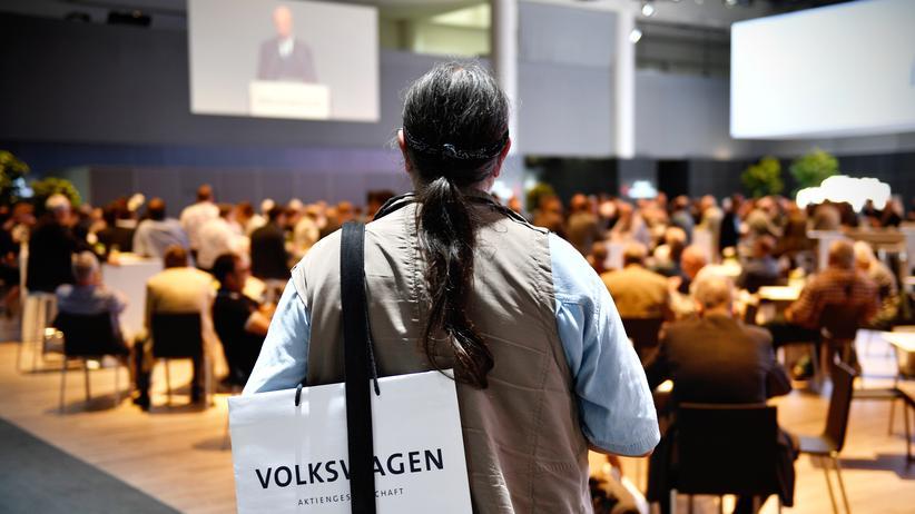 Volkswagen Hauptversammlung