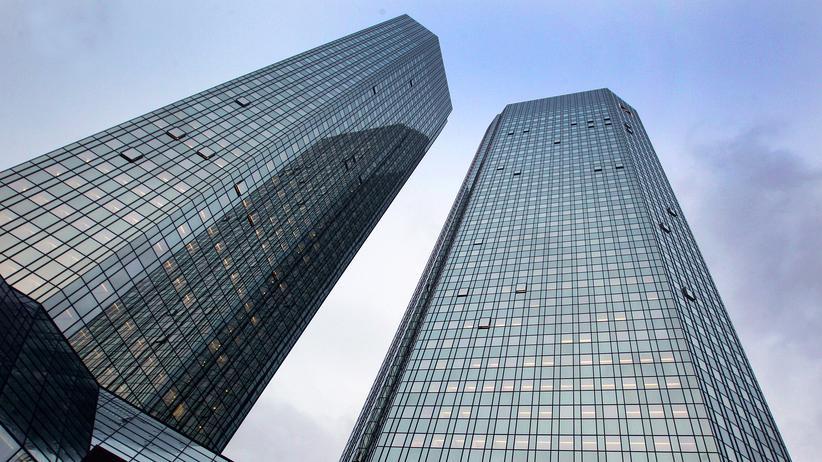 Deutsche Bank: Die Zentrale der Deutschen Bank in Frankfurt