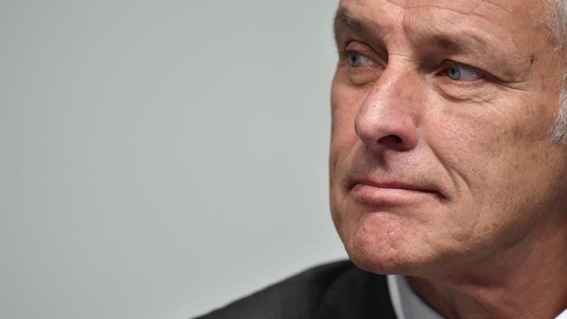 VW-Affäre: VW-Chef Matthias Müller während der Aktionärshauptversammlung im Juni in Hannover