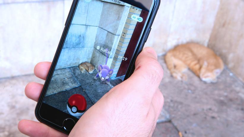 Das Smartphone-Spiel Pokémon Go