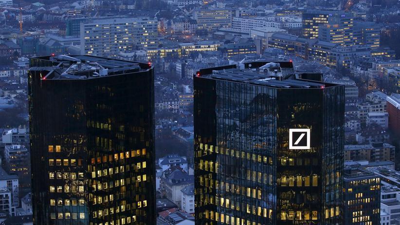 Deutsche Bank: US-Justiz droht Deutscher Bank mit Rekordstrafe