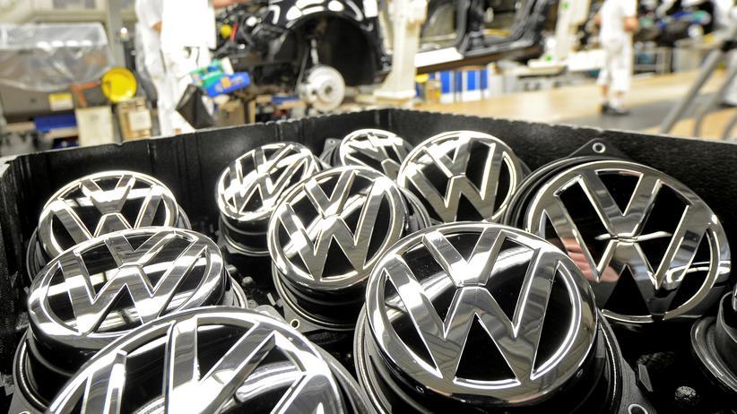 Volkswagen Logo Abgasskandal