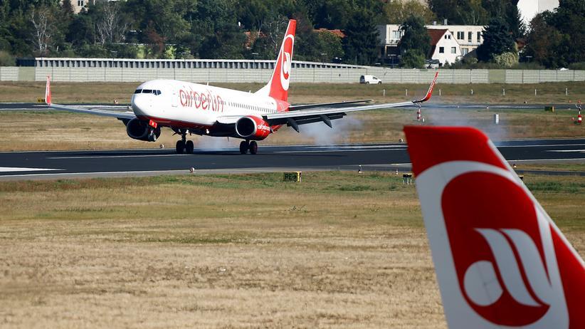 Fluggesellschaften: Tuifly und Air Berlin wollen fusionieren