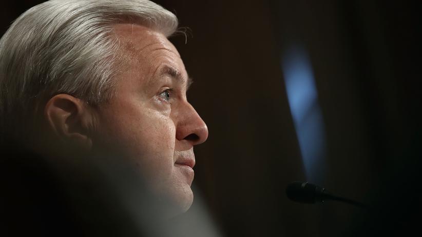 Scheinkonten: John Stumpf bei einer Anhörung des US-Senats (Archivbild)