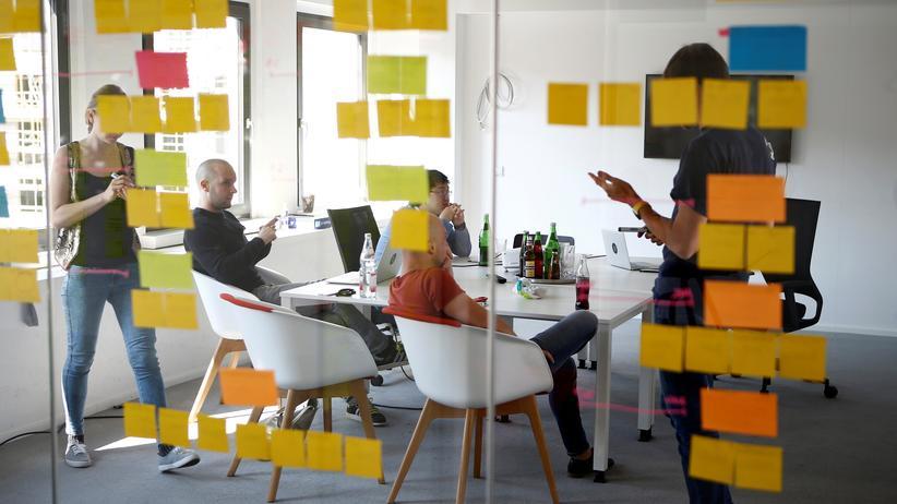 Digitalisierung: Die Berliner Büros des Fintech-Unternehmens N26