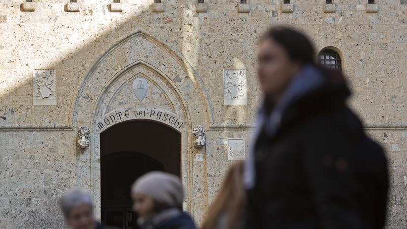 Italien: Der Hauptsitz der MPS-Bank in Siena