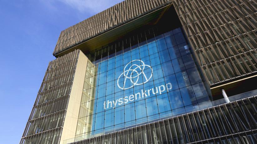 Thyssenkrupp Hackerangriff Logo
