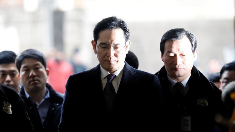 Südkorea: Samsung-Erbe wegen Korruptionsverdacht verhaftet