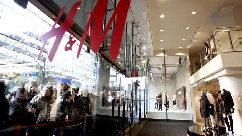 Modekonzern: Eine Filiale des Modehauses H&M