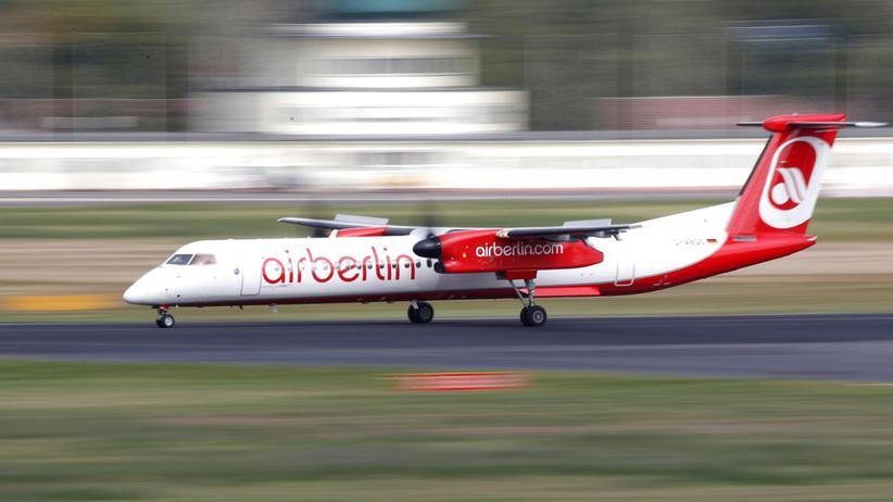 Insolvenz: Eine Maschine von Air Berlin