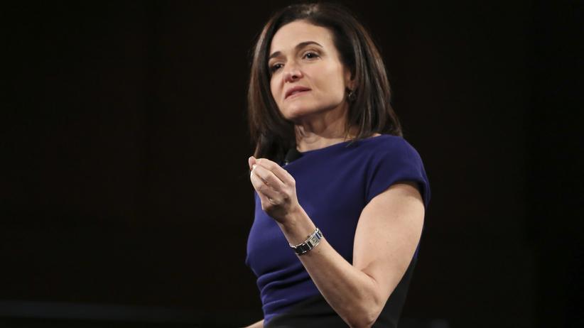 """""""Option B"""": Facebook-Geschäftsführerin Sheryl Sandberg im vergangenen Jahr auf einer Konferenz in  Rancho Palos Verdes, Kalifornien"""