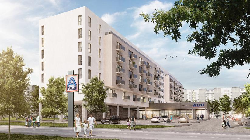 Immobilienmarkt: Aldi will Wohnungen bauen