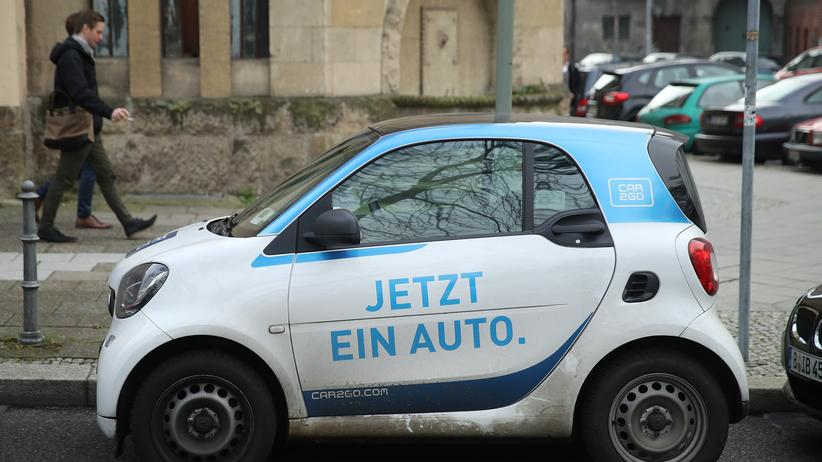 Carsharing: Ein Car2Go-Auto in Berlin