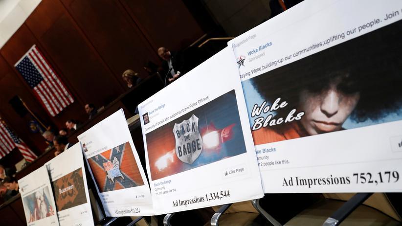 Soziale Netzwerke: Der US-Kongress hinterfragt Inhalte von Facebook.