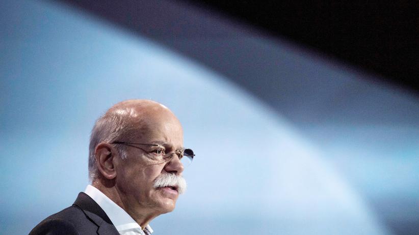 Daimler: Zetsche verspricht modernere Diesel für mehr Klimaschutz