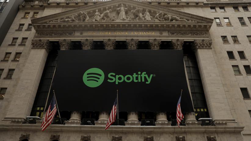 Musikstreamingdienst: Spotify steigert Marktwert zum Börsenstart deutlich