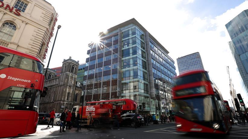 Facebook-Skandal: Die Büros von Cambridge Analytica sind in diesem Gebäude in London.