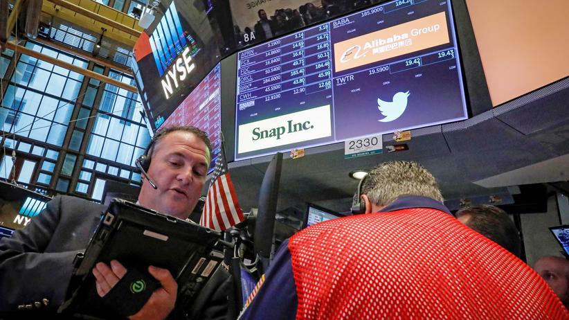 Twitter: Die Twitter-Aktie stürzte nach Veröffentlichung der Quartalsergebnisse ab.