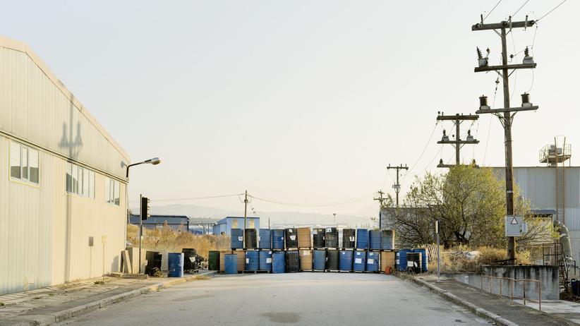 Griechenland: Die Firma macht dicht und keiner geht heim