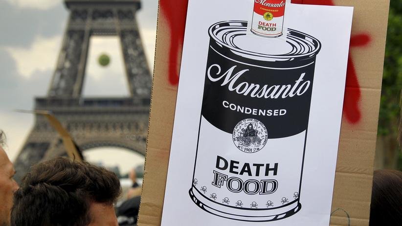 Glyphosat: Demonstration gegen Monsanto im Jahr 2015 in Paris
