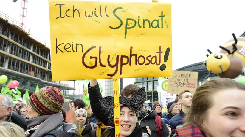 """Glyphosat: """"Wir haben verstanden"""""""