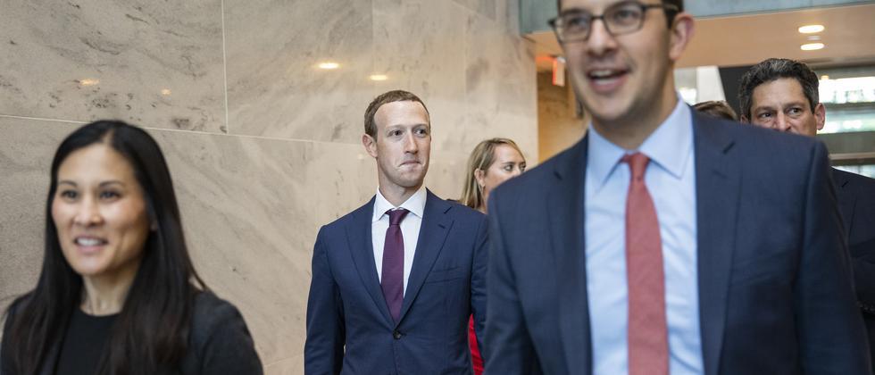 USA: Mark Zuckerberg lehnt Aufspaltung von Facebook ab