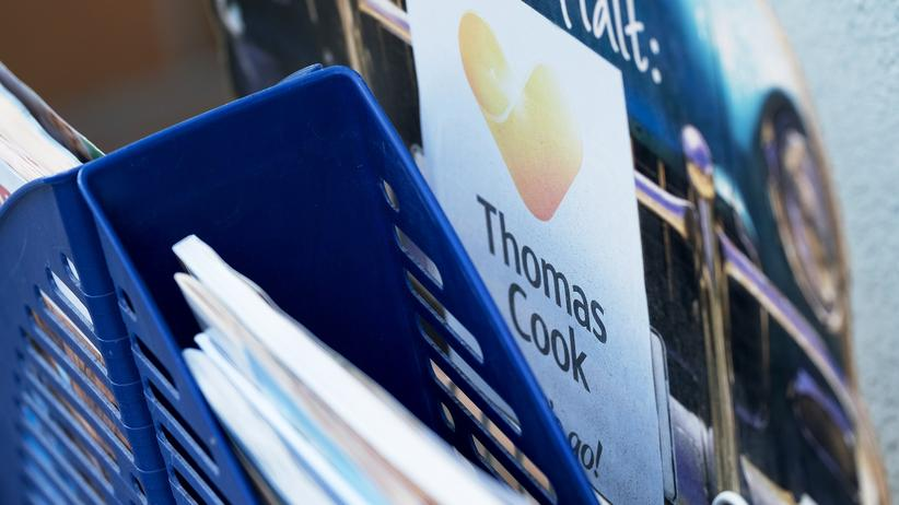 Insolvenz: In einem Reisebüro von Thomas Cook in Berlin (September 2019)