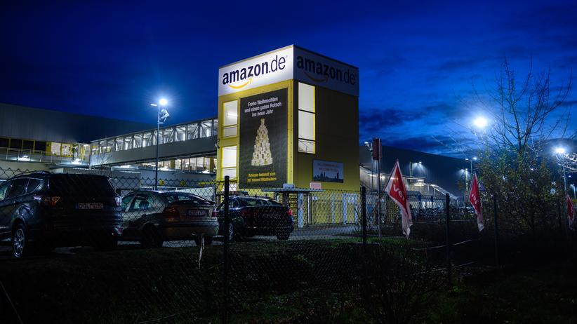 Tarifkonflikt: Beschäftigte bei Amazon könnten auch über die Weihnachtsfeiertage streiken.