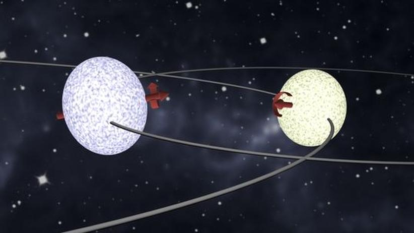 Stern Doppelstern Herculis Herkules Strernbild Astronomie Physik