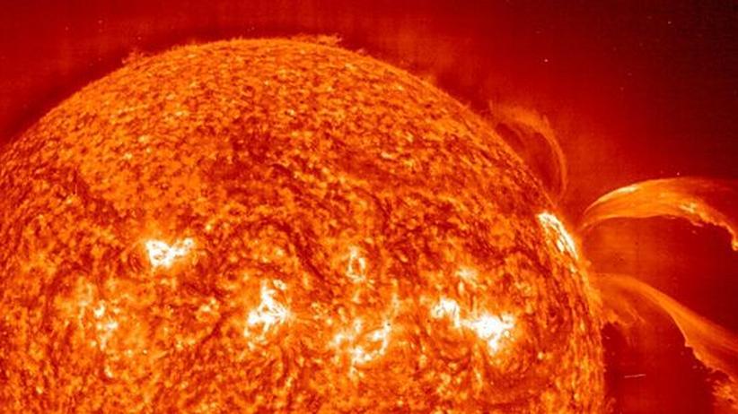 Sonnenstürme: Die Hölle kommt vom Himmel