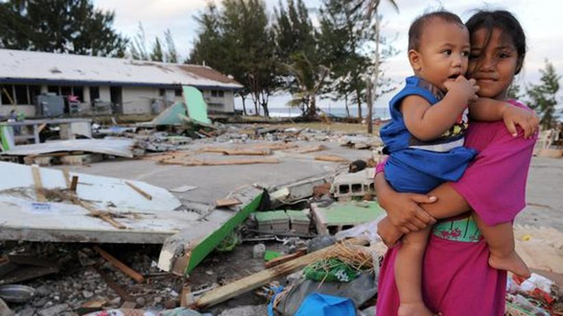Sumatra Samoa Erdebeben Tsunami Indonesien Katastrophe Trümmer