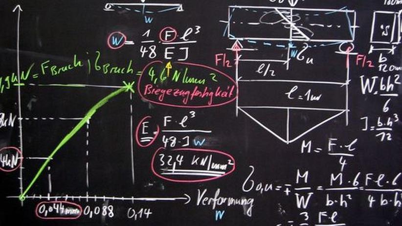 Wissenschaftler bei der Arbeit: Mathematik ist überall