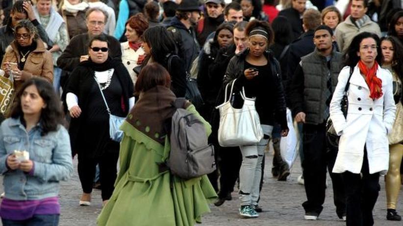 Menschen Gruppe Kulturen Ethnologie Stadt