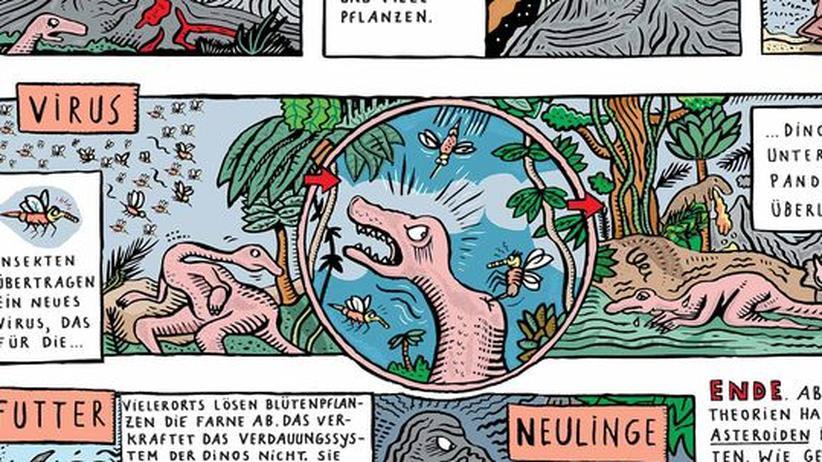 Paläontologie: Bitte klicken Sie auf das Bild, um die Infografik als PDF-Dokument herunterzuladen