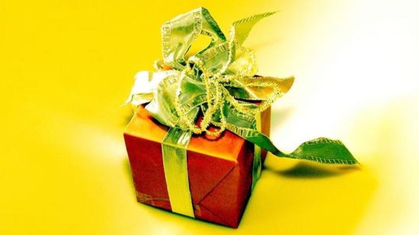 Geschenk schenken Freude Angst Überraschung Weihnachten