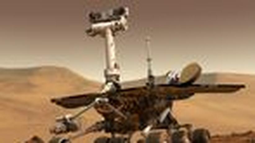 Nasa-Rover Spirit: Malader Patient auf dem Mars