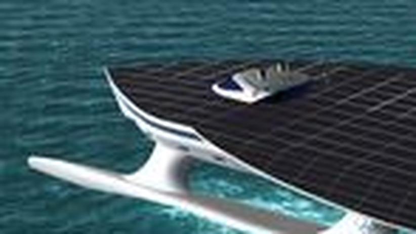 Sonnenenergie: Mit einer Solaryacht um die Welt