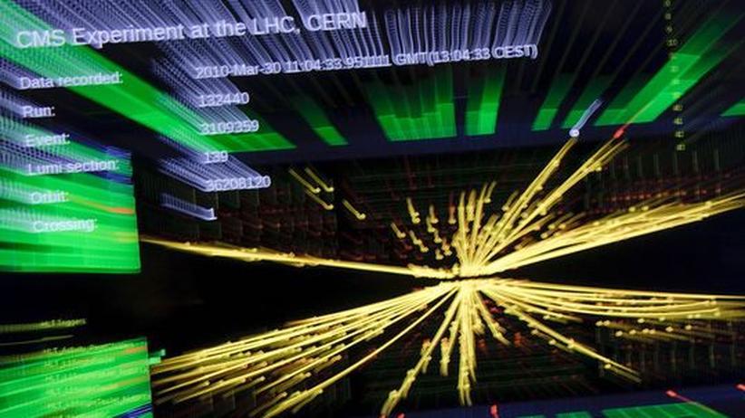Teilchenbeschleuniger LHC: Im Trommelfeuer der Urknälle