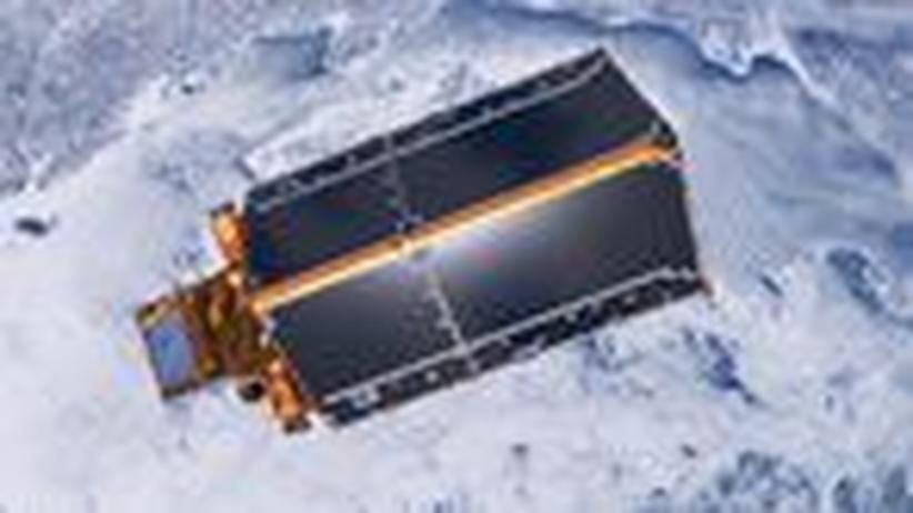 Cryosat-2 startet ins All: Ein Satellit für die Klimaforschung